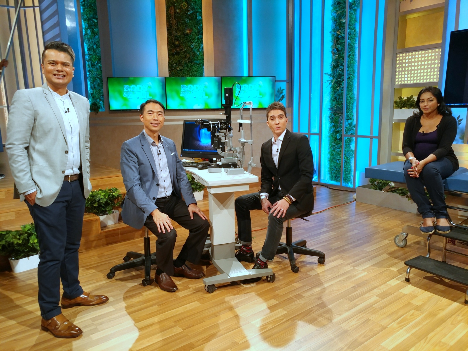 Dr Lee Sao Bing's TV Interview On Mediacorp Channel 5 Body and Soul Episode 6